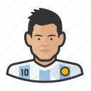argetina, avatar, footballers, messi, user