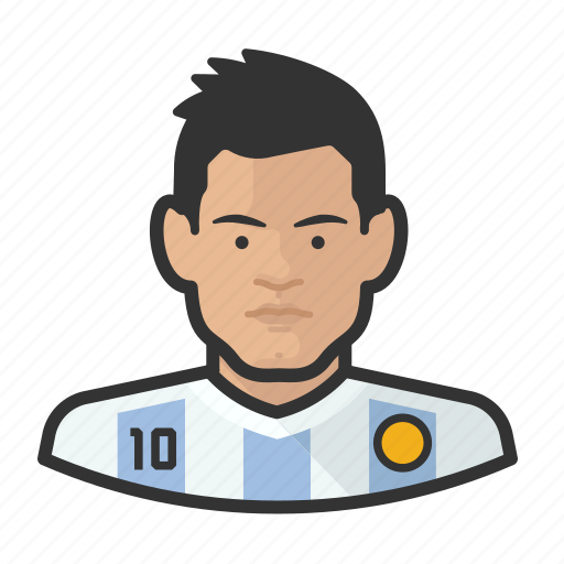 Argetina, Avatar, Footballers, Messi, User Icon