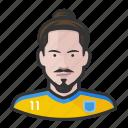 avatar, footballers, ibrahimovich, user, zlatan icon