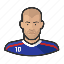 avatar, zizou, zidane, user, zinadine, footballers