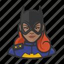 avatar, batgirl, superhero, user icon