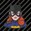 avatar, batgirl, redhead, superhero, user icon