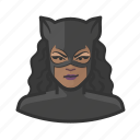 avatar, catwoman, costume, superhero, user icon