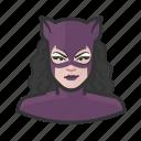 catwoman, caucasian, superhero icon