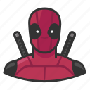 avatar, comics, deadpool, superhero, user icon