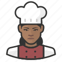 avatar, chef, female, user, woman icon