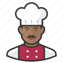avatar, chef, male, man, user icon