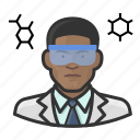 avatar, chemist, male, man, scientist, user