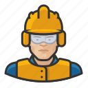 airport, asian, avatar, construction, male, man, user icon