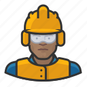 airport, avatar, construction, male, man, user