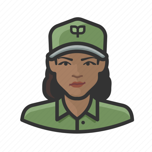 avatar, ecologist, environmentalist, female, user, woman icon