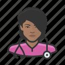 avatar, female, healthcare, nurse, user, woman icon