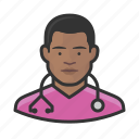 avatar, healthcare, male, man, nurse, user icon