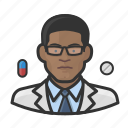 avatar, healthcare, male, man, pharmacist, user icon