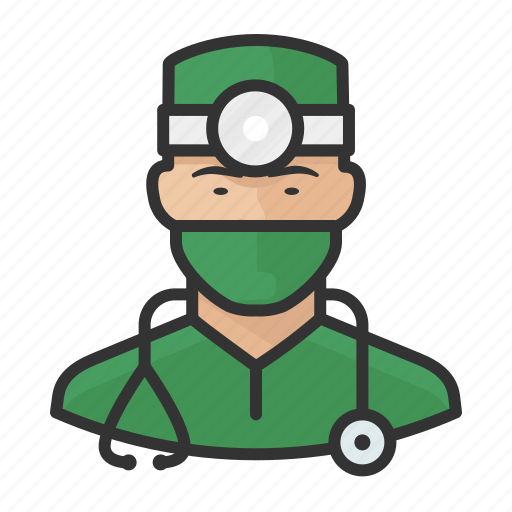 Asian, avatar, doctor, healthcare, male, man, surgeon icon - Download on Iconfinder
