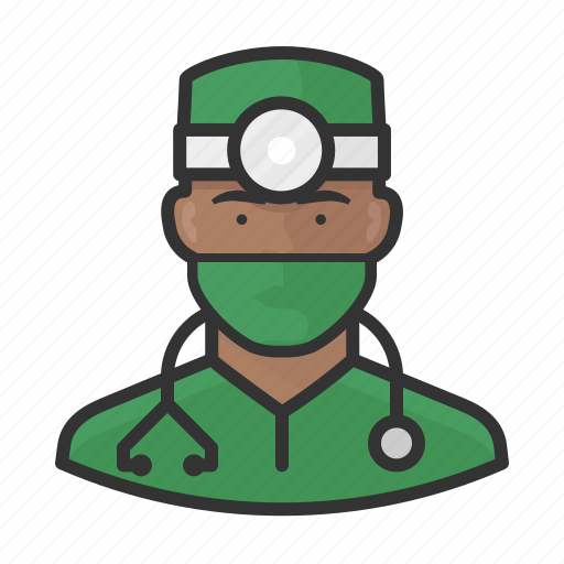 Avatar, doctor, healthcare, male, surgeon, user icon - Download on Iconfinder