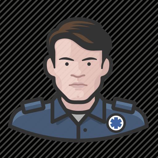 avatar, ems, male, user, white icon