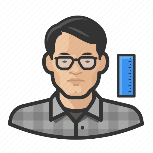Asian, avatar, engineer, male, man, millennial, user icon - Download on Iconfinder