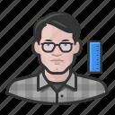 avatar, engineer, male, man, millennial, user