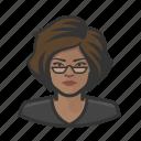 avatar, female, person, profile, user, woman icon