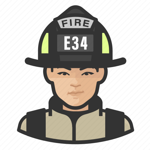 Asian, avatar, female, firefighter, user icon - Download on Iconfinder