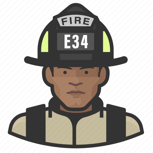 Avatar, firefighter, male, man, user icon - Download on Iconfinder