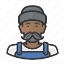 avatar, fisher, fisherman, male, man, moustache, user