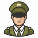 asian, avatar, general, male, man, military, user icon