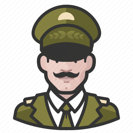 Avatar, general, male, man, military, user icon - Download on Iconfinder