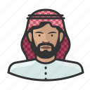 arab, avatar, islam, male, muslim, turban, user
