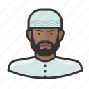 avatar, islam, male, muslim, religion, user icon