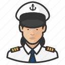 asian, avatar, female, naval, officers, user, woman
