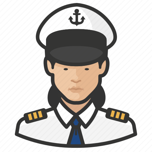 Asian, avatar, female, naval, officers, user, woman icon - Download on Iconfinder