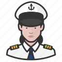avatar, female, naval, officers, user, woman