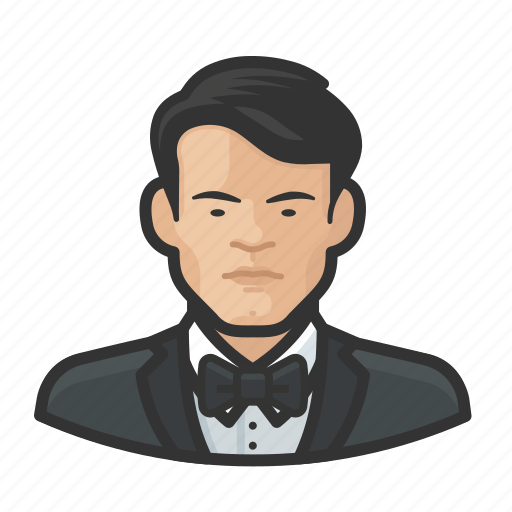 Asian, avatar, female, male, man, millennial, user icon - Download on Iconfinder