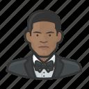avatar, formal, male, millennial, tuxedo, user