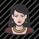 avatar, female, formal, millennial, user, woman