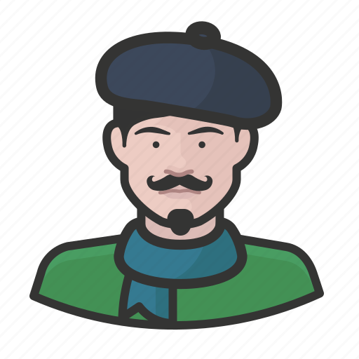 Artist, avatar, beret, french, male, user icon - Download on Iconfinder