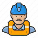 asian, avatar, gas works, hard hat, male, user