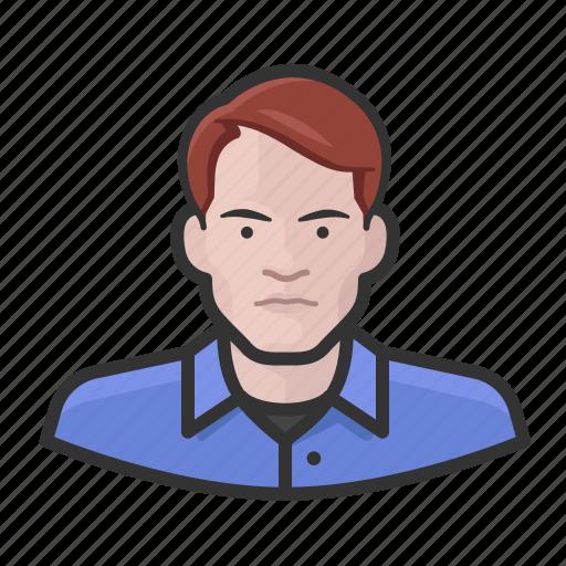 Avatar, ginger, man, millennial, user icon - Download on Iconfinder