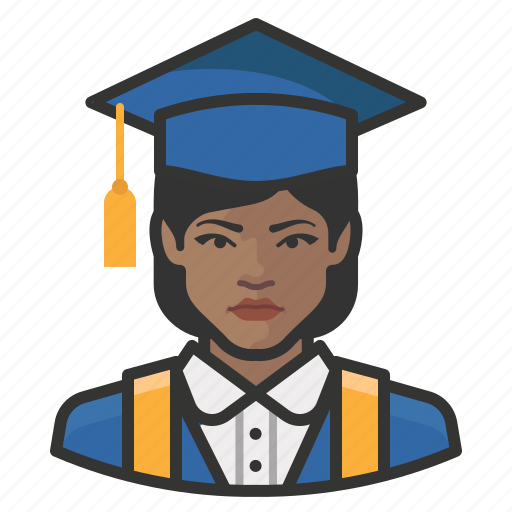 Avatar, female, graduates, millennial, user, woman icon - Download on Iconfinder