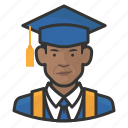 avatar, graduates, male, man, millennial, user