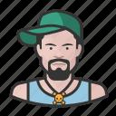 avatar, hip hop, male, man, user icon