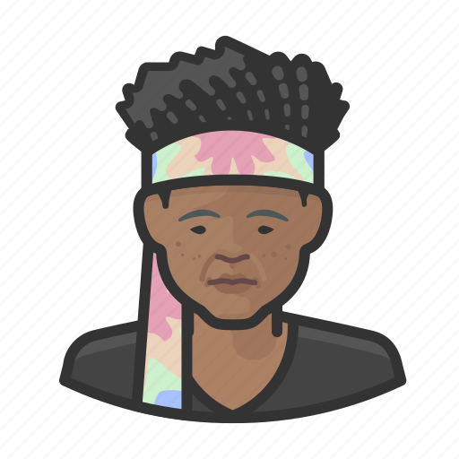 Avatar, female, hippies, user, woman icon - Download on Iconfinder