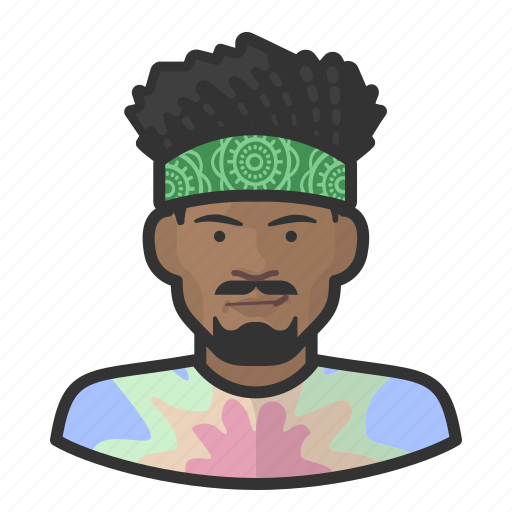 avatar, hippies, male, man, user icon