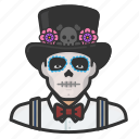 avatar, day of the dead, dead, death, mexican, mexico icon