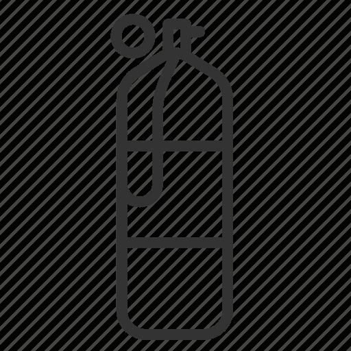 cylinder, diving, oxygen, scuba, tank, underwater icon