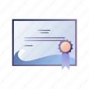 award, certificate, diploma, diving, diving certificate, scuba icon