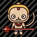 avatar, character, deepavali, diwali, festival, hanuman, india icon