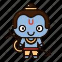 avatar, character, deepavali, diwali, festival, india, rama icon